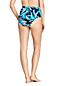 Bas de Bikini Imprimé Taille Haute, Femme Stature Standard