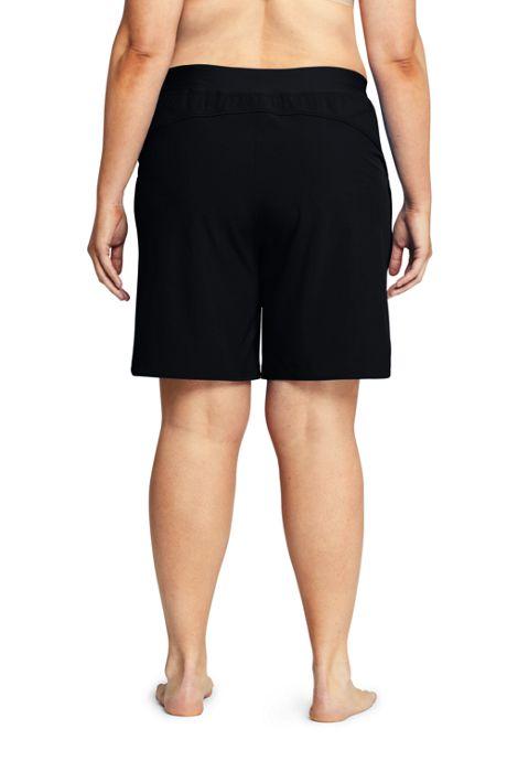 Women's Plus Size Comfort Waist 9