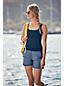 Short AquaSport Imprimé Maillot Intégré Taille Confort, Femme Stature Standard
