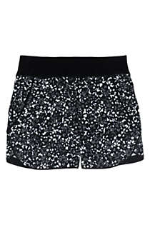 "Women's 5"" Quick Dry Elastic Waist Board Shorts Swim Cover-up Shorts with Panty Print, Front"