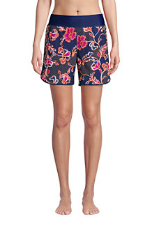 Women's 5ins Board Shorts, Print - with Swim Briefs