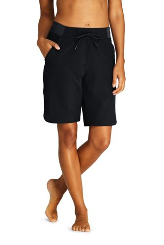 Short AquaSport Imprimé Maillot Intégré Taille Confort, Femme Grande Taille
