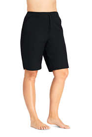 "Women's Plus Size Comfort Waist 11"" Swim Shorts with Panty"
