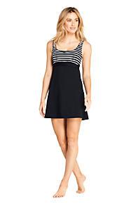 ebad0a2f0e4b9 Women's Square Neck Underwire Dresskini Tunic Top Swimsuit Print