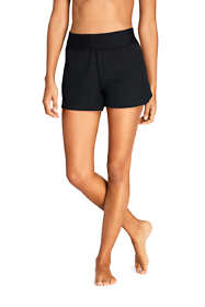"Women's Comfort Waist 3"" Swim Shorts with Panty"