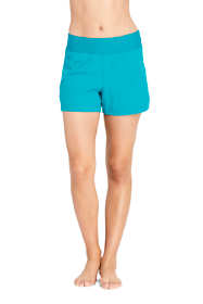 "Women's Comfort Waist 3"" Swim Shorts with Panty"