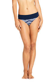 Women's Banded Low Waist Hipster Bikini Bottoms Prints