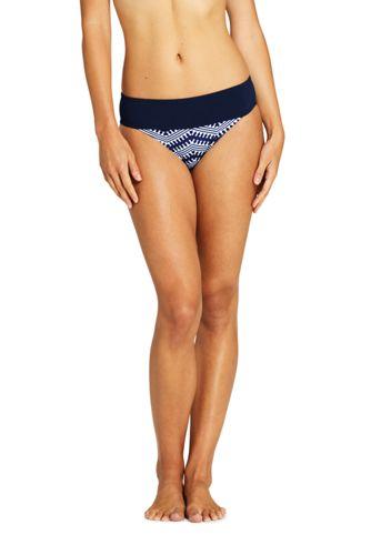 Bas de Bikini Imprimé Sunrise Taille Basse, Femme Stature Standard