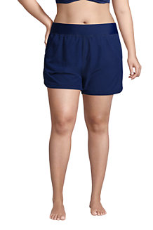 Women's Comfort Waist Board Shorts, 5ins