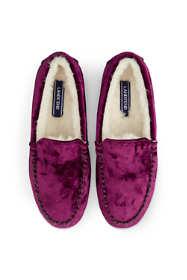 Women's Velvet Moc Slippers
