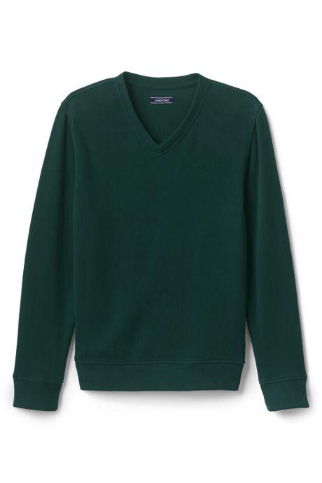 Men's Bedford Rib V-neck Sweater