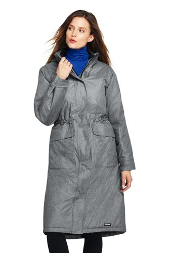 Manteau Stadium Squall Isolant Chiné, Femme Stature Standard