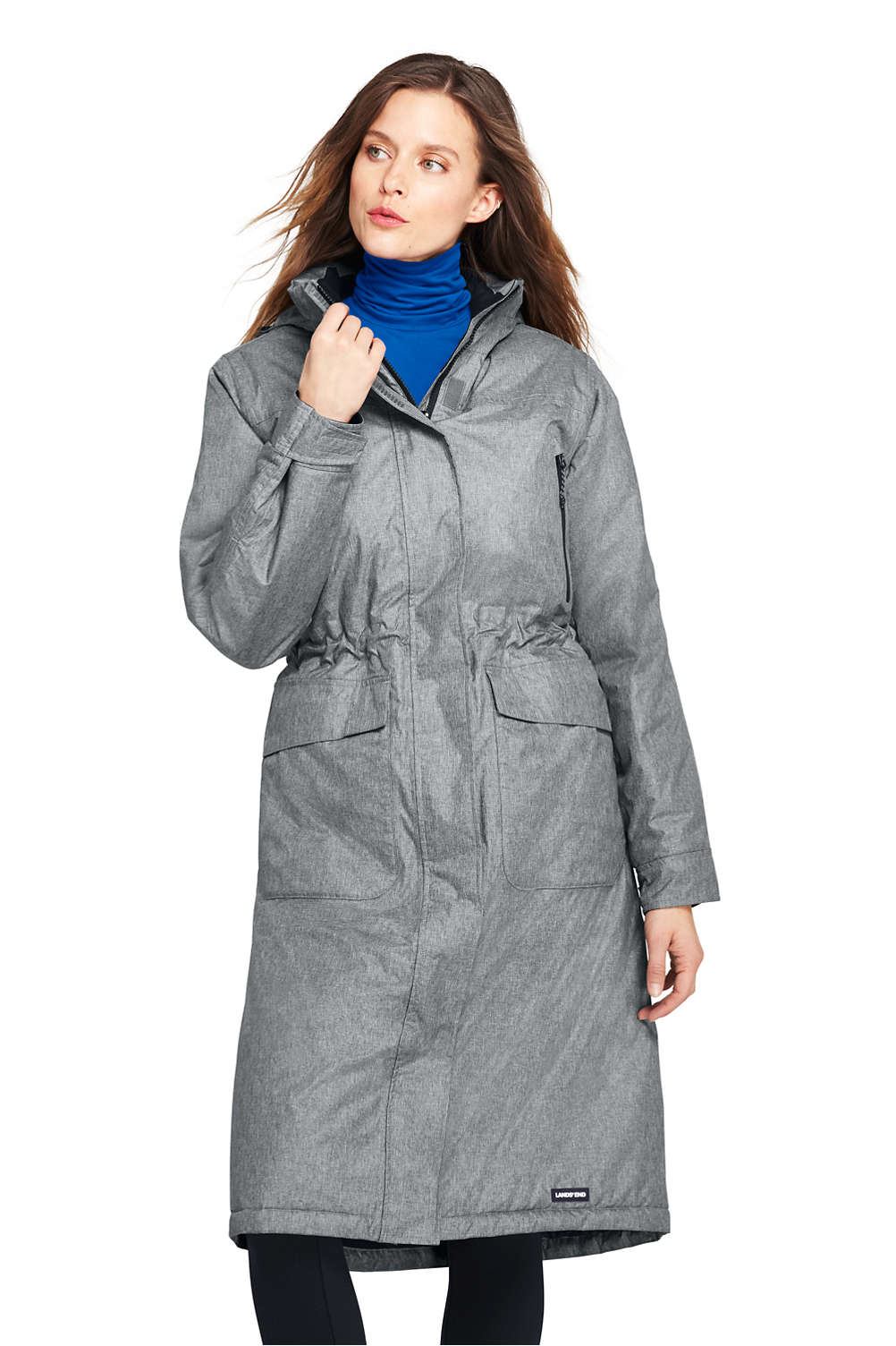 3a3bf2dca7 Women's Squall Insulated Long Stadium Coat from Lands' End