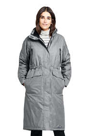 Women's Petite Squall Insulated Long Stadium Coat