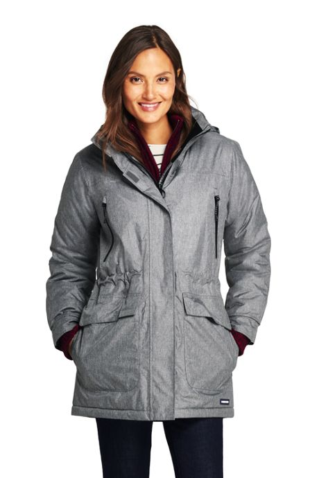 Women's Petite Heathered Squall Insulated Winter Parka