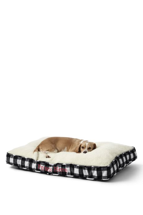 Rectangular Sherpa Dog Bed Cover