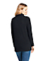 Women's Petite Roll Neck Fleece Tunic Top