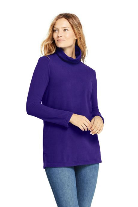 Women's Tunic Fleece Turtleneck