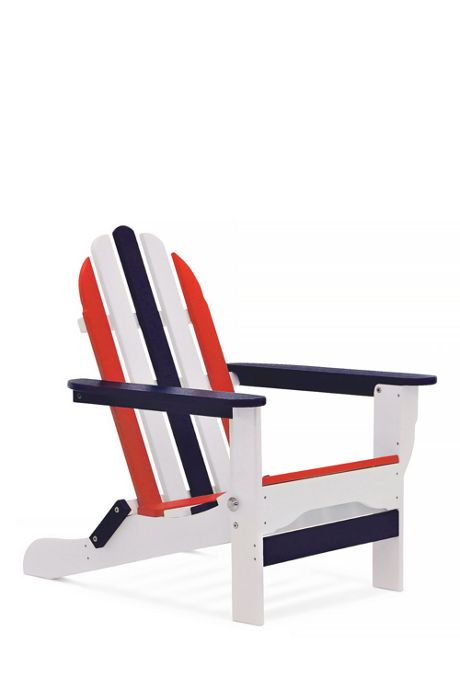 All-Weather Recycled Americana Adirondack Chair