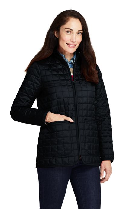Women's Petite Quilted Insulated Jacket