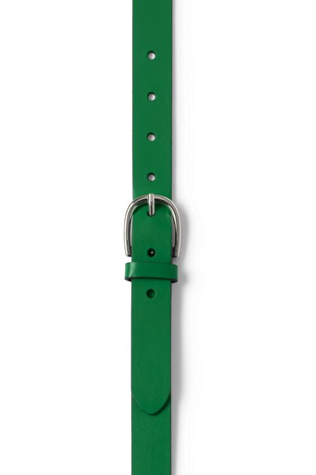 School Uniform Women's Plus Size Classic Leather Belt