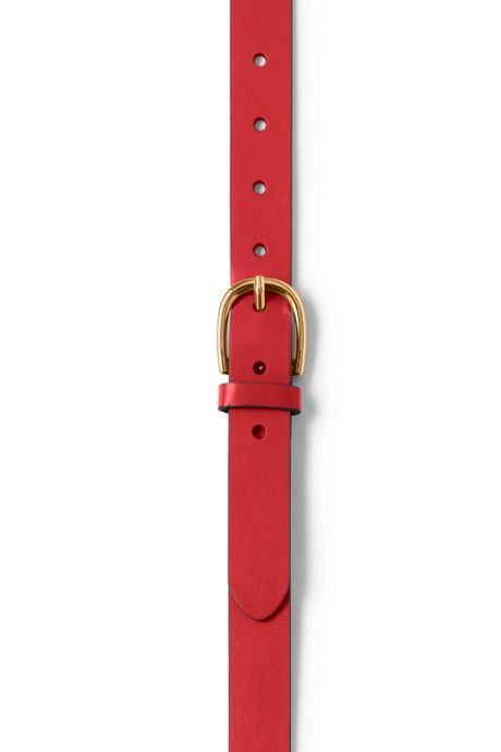 Women's Plus Size Classic Leather Belt