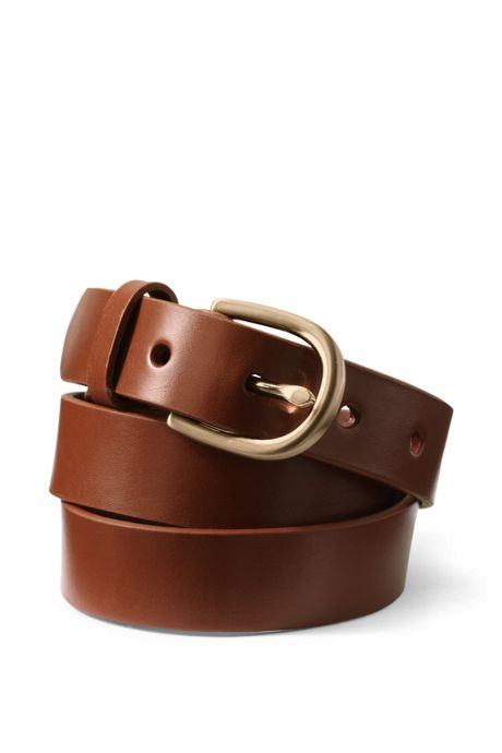 School Uniform Women's Classic Leather Belt