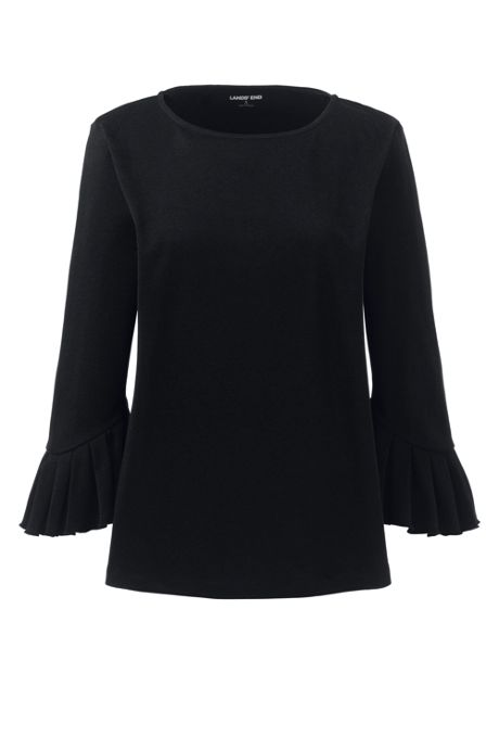 Women's 3/4 Pleat Sleeve Top