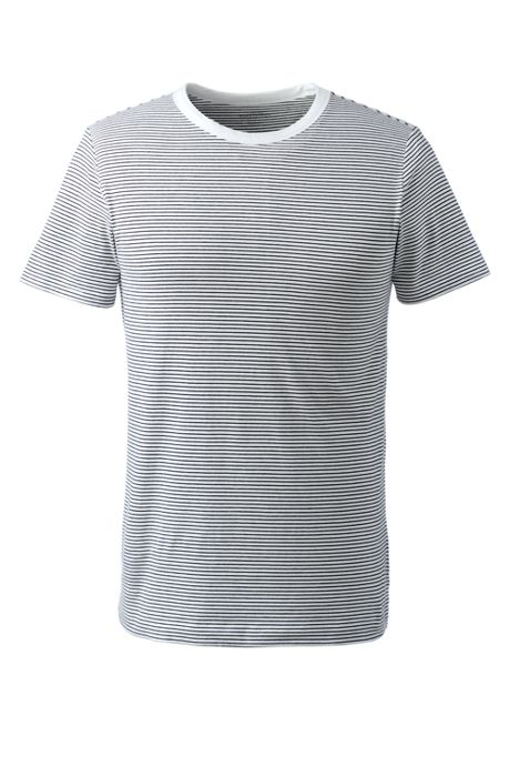 Men's Short Sleeve Micro-Stripe Layering T-shirt