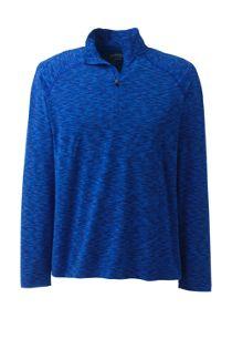 Men's Mid-Layer Space Dye Half Zip