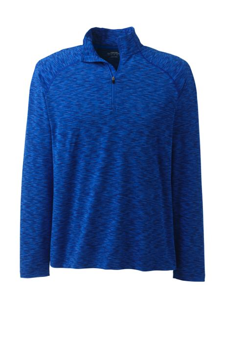 Men's Mid-Layer Space Dye Half Zip