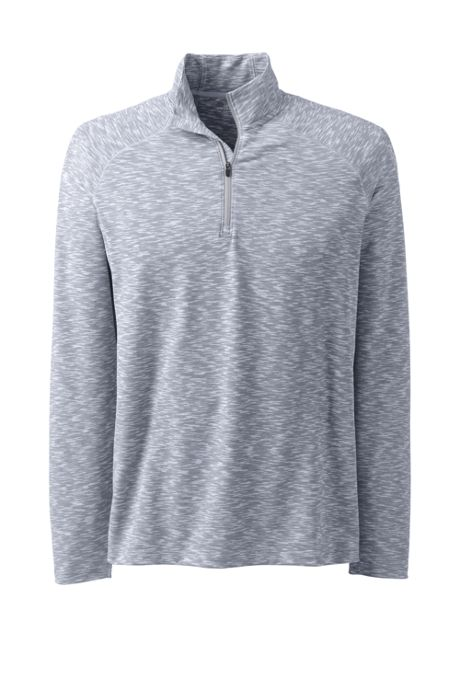 Men's Space Dye Quarter Zip