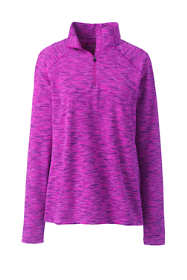 Women's Performance Space Dye Quarter Zip Pullover