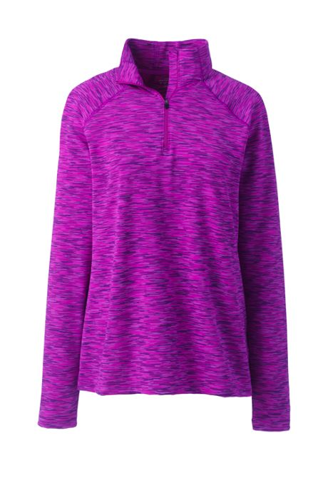 Women's Mid-Layer Space Dye Half Zip