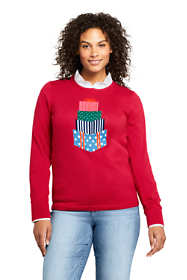 Women's Supima Cotton Christmas Sweater