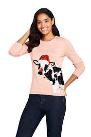 Women's Supima Cotton Christmas Sweater