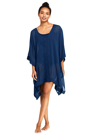 8f79150d95ae1 Women's Embroidered Kaftan Beach Cover-up | Lands' End