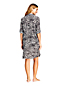Women's Print Shirtdress Cover-up
