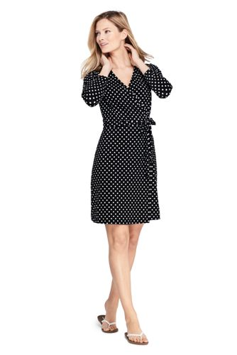 Women's Wrap Dress Cover-up