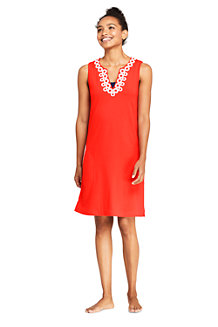 fa4ad606249 Women s Sleeveless Embroidered Cotton Cover-up