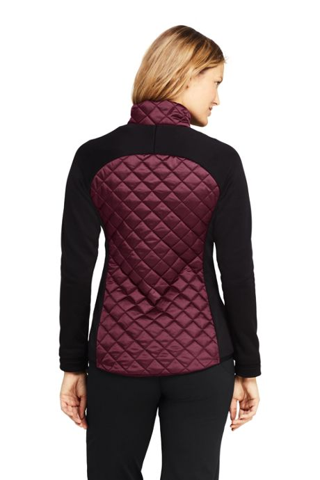 Women's Petite Active Hybrid Insulated Powerstretch Jacket