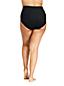 Bas de Bikini Taille Haute Amincissant, Femme Grande Taille