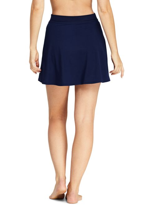 Women's Slender SwimMini Swim Skirt with Tummy Control
