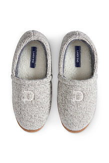 Men's Knit Slippers