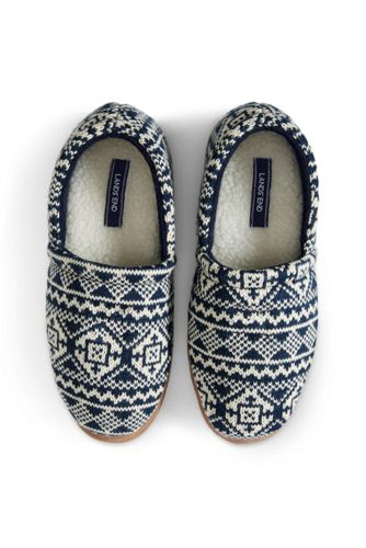 Men's Knit Slippers