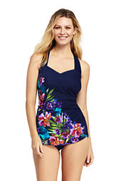 c219d7874c066 Women s Slender Tunic One Piece Swimsuit with Tummy Control from ...