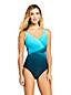 Shape-Badeanzug mit Soft Cups Ombré SLENDER für Damen