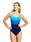 Shape-Badeanzug Gemustert SLENDER für Damen in Plus-Größe