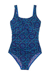 Women's DDD-Cup Slender Carmela Tummy Control Chlorine Resistant One Piece Swimsuit Print, Front