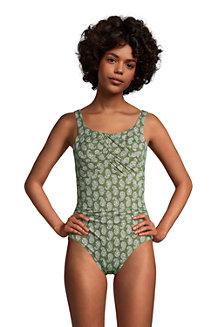Shape-Badeanzug mit Bügel Gemustert SLENDER in Lang-Größe